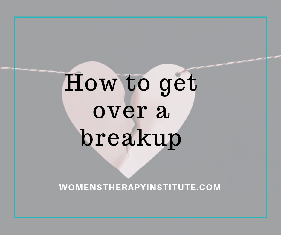Stages of grief break up rebound