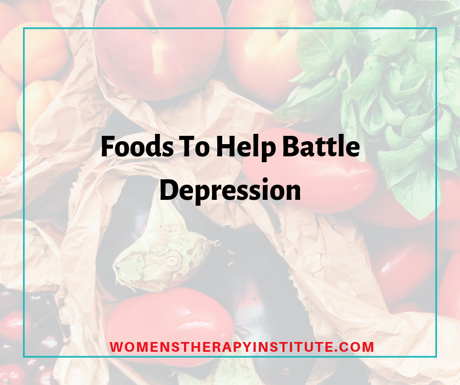 foods to battle depression