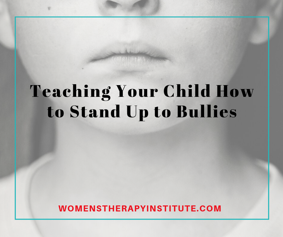 standing up to bullies