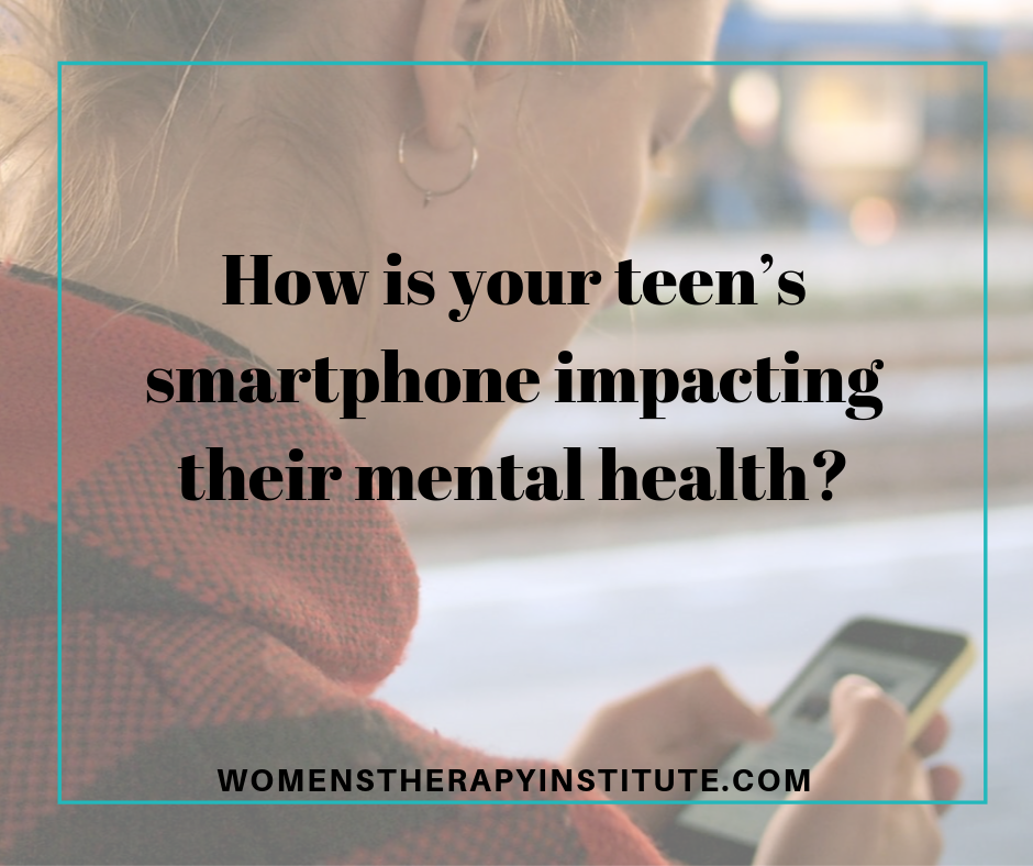 smartphone teen mental health
